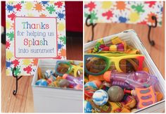 Perfect splash party favor ideas for kids of all ages! Great pool party ideas, luau party favors or fun for any summer party theme.