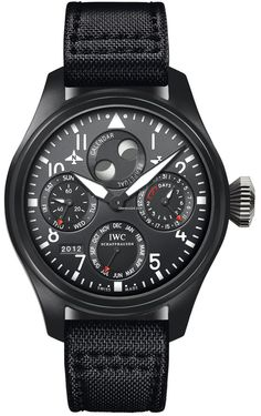 Discover a large selection of IWC Big Pilot Top Gun watches on - the worldwide marketplace for luxury watches. Compare all IWC Big Pilot Top Gun watches ✓ Buy safely & securely ✓ Top Gun, Iwc Watches, Cool Watches, Watches For Men, Black Watches, Army Watches, Sport Watches, International Watch Company, Iwc Pilot