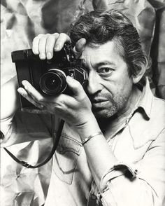 Serge Gainsbourg. You really can't say he is beautiful, but his music and his sexy ways can make any woman melt...