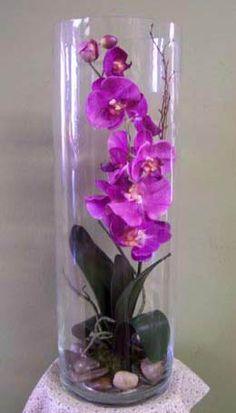 permanent orchid flower arrangement