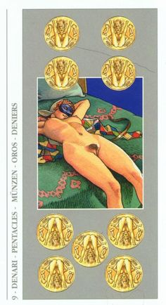 Something card erotic tarot quite