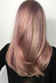 Strawberries and cream hair color