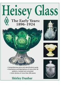 "Read ""Heisey Glassware The Early Years: by Dunbar available from Rakuten Kobo. IDENTIFY AND PRICE Marked and unmarked pieces of Heisey collectible glass. This first-ever comprehensive guide to Heisey. Crystal Glassware, Antique Glassware, Antique Dishes, Vintage Dishes, Vintage Pyrex, Vintage Tea, Vintage Stuff, Vintage Kitchen, Etsy Vintage"