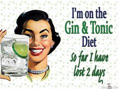 The gin & tonic diet