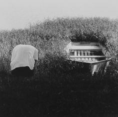 Ralph Eugene Meatyard, Untitled (Figure and Boat), 1964/1974, ClampArt