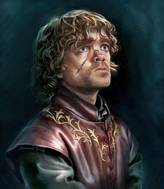 After painting Jon Snow I figured I'd have to do my next favorite Game of Thrones character, Tyrion. Might as well keep going and do the whole cast!