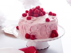 Todd's Orange and Raspberry Cake Recipe : Giada De Laurentiis : Food Network. I don't use box cake mix but make from scratch, but this cake is the one kids request as their birthday cake!