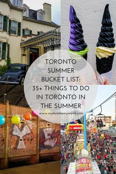 Toronto Summer Bucket List: 35 Things To Do in Toronto In the Summer Alberta Canada, Travel Guides, Travel Tips, Travel Articles, Vancouver, Stuff To Do, Things To Do, Toronto Travel, Toronto Vacation