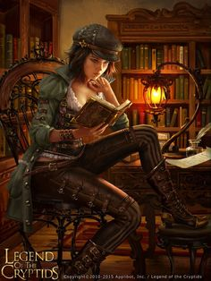 Read any good steampunk fantasy books lately? Illustration by AnotherWanderer, a. - Read any good steampunk fantasy books lately? Illustration by AnotherWanderer, anotherwanderer. 3d Fantasy, Fantasy Women, Fantasy Girl, Fantasy Artwork, Fantasy Books, Fantasy Images, Steampunk Characters, Fantasy Characters, Female Characters