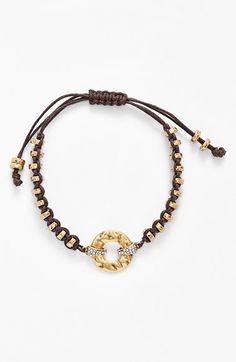 Lauren Ralph Lauren Beaded Cord Bracelet available at #Nordstrom