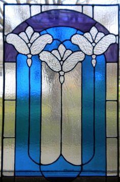 noveau-stained-glass-window-panel