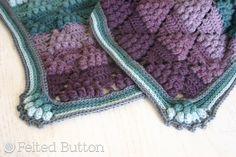 Crochet Pattern Vintage Vineyard Blanket Afghan Throw