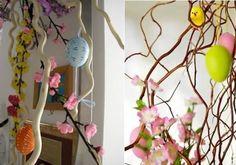 Alberelli di pasqua fai da te per decorare la tua casa nel periodo pasquale.