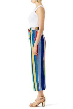 Striped Tie Pants by Mara Hoffman
