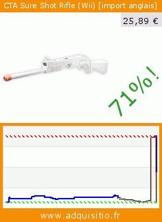 CTA Sure Shot Rifle (Wii) [import anglais] (Accessoire). Réduction de 71%! Prix actuel 25,89 €, l'ancien prix était de 90,29 €. http://www.adquisitio.fr/cta/sure-shot-rifle-wii