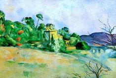 Landscape at Midday Paul Cezanne - 1885-1887