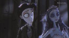 Coraline Aesthetic, Disney Aesthetic, Aesthetic Movies, Aesthetic Art, Aesthetic Anime, Corpse Bride Art, Emily Corpse Bride, Tim Burton Corpse Bride, Tim Burton Art