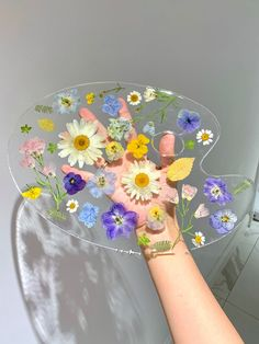 Diy Resin Art, Diy Resin Crafts, Diy And Crafts, Arts And Crafts, Flower Aesthetic, Aesthetic Art, Diy Painting, Art Projects, Indie