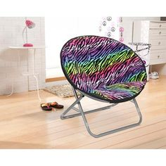#walmart Cocoon Faux Fur Saucer Chair, multiple colors - $19 (save 36%) #cocoon #home #kidsroom