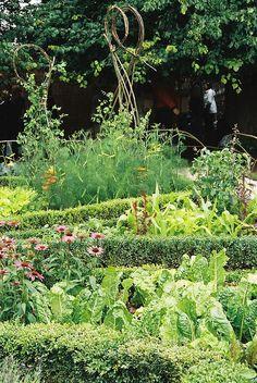 Kitchen potager garden by venetia 27, via Flickr