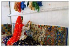 Persian Rug Making