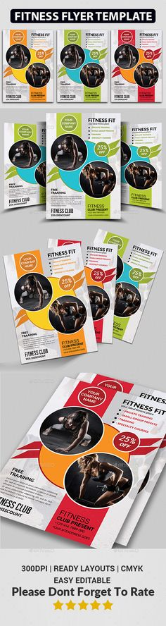 Fitness Flyer Fitness, Sports and Flyers - fitness flyer