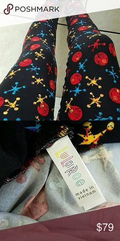 NEW TC LULAROE LEGGING UNICORN Tall and curvy 12-22 legging. New with tags. Please no rude comments in my closet. All pricing comments will be ignored. If you're unsure about a color please ask. No trades. Open to offers. Thanks for looking:) LuLaRoe Other