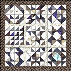 Modern Tradition Quilts: Charm Square Sampler Quilt Along