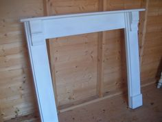 Small corbel  wooden fire place / surround new shipped by parcel force 48