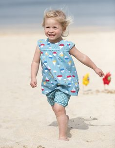 Frugi SS16 Tehidy Outfit, Playsuit Set