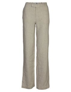 A loose fit linen trousers with a straight leg. There is a hidden fastening. Team it up with your favourite tee or shirt and you have an effortlessly stylish look. Linen Trousers, Loose Fit, Pajama Pants, Sweatpants, Leggings, Legs, Stylish, Fitness, Shirts