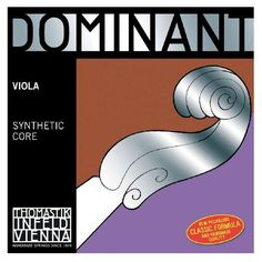Thomastik Dominant 136 3/4 Viola A String The Thomastik Dominant 136 3/4 Viola A String brings a great blend of warmth brilliance and clarity to your playing. Thomastiks synthetic strings are resistant to change from humidity which provides d http://www.MightGet.com/january-2017-11/thomastik-dominant-136-3-4-viola-a-string.asp