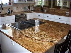 baltic brown granite kitchen worktop with a polished sink. Black Bedroom Furniture Sets. Home Design Ideas
