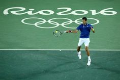 8/7/16 Via http://sports.yahoo.com/news/novak-djokovic-dropped-in-first-round-of-rio-olympics-015509288.html  Novak Djokovic dropped in first round of Rio Olympics - In fact, it was Del Potro who defeated Djokovic in the bronze medal match of the London Games in 2012, keeping the Serbian from winning a medal. Via ESPN Tennis  ·   Djokovic has now lost three straight Olympic matches. 2012 semifinal to Murray; 2012 bronze medal to del Potro; 2016 first round to del Potro.
