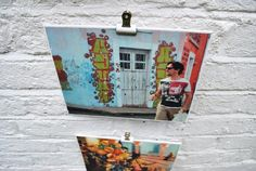 Diy canvas photo transfer project from www.knickerelasticfantastic.blogspot.co.uk