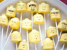 cute idea for Lego party