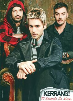Tomo, Jared, and Shannon! They look so freaking hot here!! <3