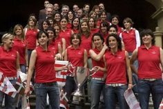 Imagen de la plantilla del Athletic femenino. /Foto Miathletic.com