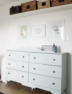 1 IKEA TARVA Dresser, 25 Different Ways