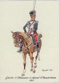 FRANCE - La Garde d'Honneur de Amsterdam - Cavalerie - 1811
