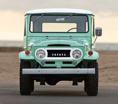 1966 Toyota FJ40 Land Cruiser | RM Auctions I'll travel the world with this my new friend