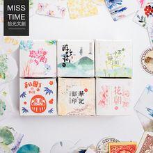 40 unids/lote Mini plantas suculentas etiqueta engomada de papel de decoración DIY diario ablum scrapbooking etiqueta kawaii papelería(China (Mainland))