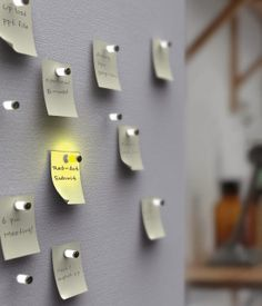 Why settling for boring pushpins, get creative on your cork bulletin board and upgrade it to something a bit more interesting and cool.