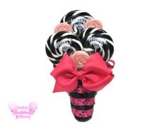 Lollipop Maid of Honor/Small Bouquet Black and by EdibleWeddings, $39.99