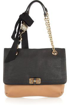 LANVIN  Happy Medium leather shoulder bag