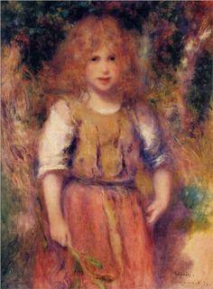 Gypsy Girl - Pierre-Auguste Renoir. Island Heat Products http://www.islandheat.com Find that something special Trending.