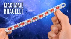 Knotted Star Wars Bracelet (Teaser) Macrame Chevron Pattern