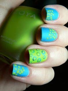 15 Polka-dot Nail Arts You Won't Miss - Pretty Designs