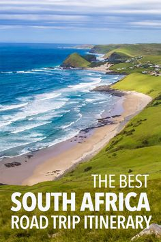 The best South Africa road trip itinerary from Johannesburg to Cape Town in one month via Kruger National Park, Drakensberg Mountains, The Wild Coast and the Garden Route. Click through for the best route, distances, things to do, and where to stay and eat on a South African road trip.
