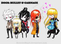 DOGS: Bullets and Carnage #manga